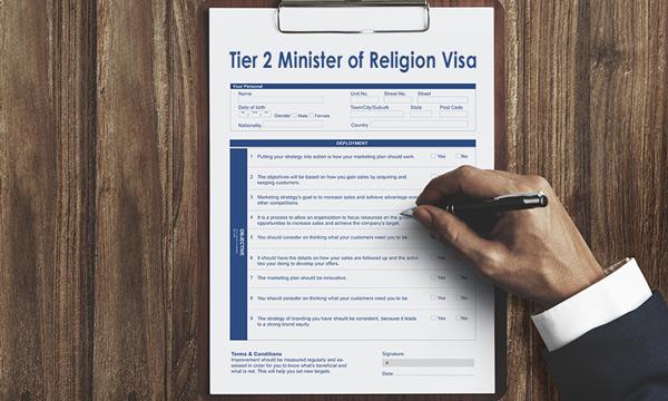 Din Görevlileri için İngiltere Çalışma Vizesi