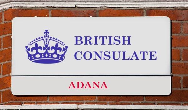 İngiltere Konsolosluğu Adana
