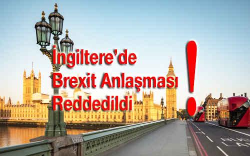 Brexit Anlaşması Reddedildi
