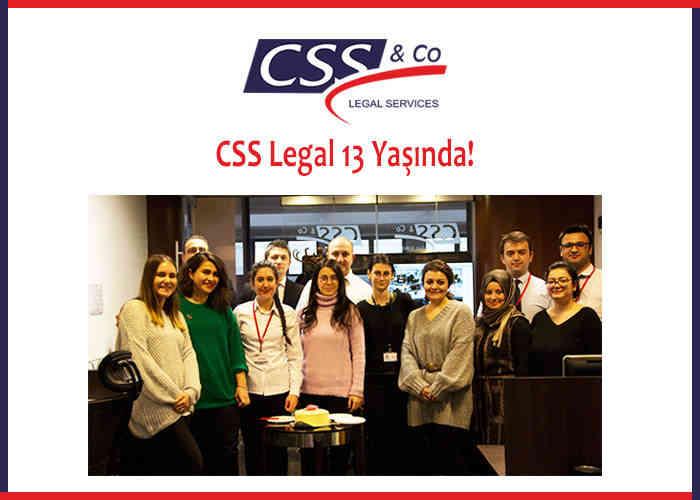 CSS Legal 13 yaşında!