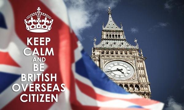 İngiltere Bağımlı Denizaşırı Ülkeleri Vatandaşlığı (British Overseas Citizen)
