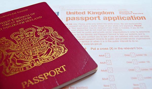 İngiliz Pasaportu Çıkartma