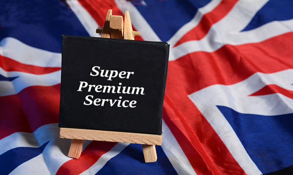 İngiltere'den Yapılan Başvurular için Ekstra Öncelikli Servis (Super Premium Service)