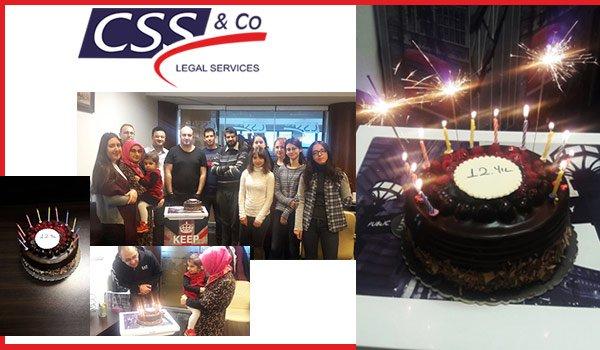 CSS Legal, 12. Yılını Kutladı!