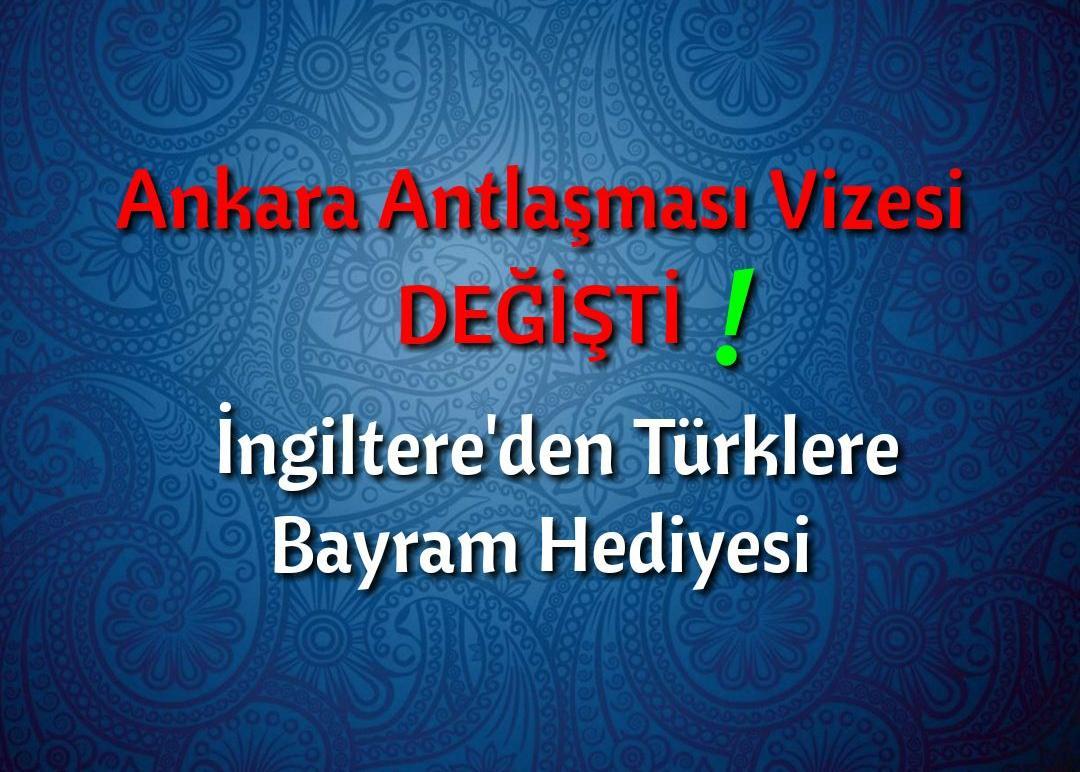 Ankara Antlaşması Sürekli Oturum (Indefinite) Vizesi Değişti