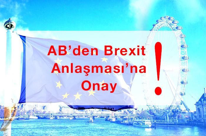Brexit Anlaşması AB Konseyi'nden Geçti