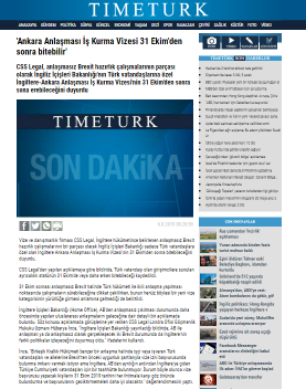 Ankara Anlaşması 31 Ekim den Sonra Bitebilir