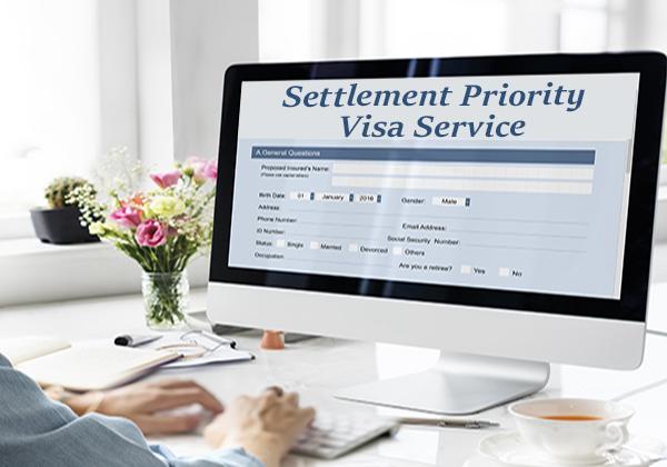 Yerleşim Vizesi İçin Öncelikli Servis (Settlement Priority Visa Service)