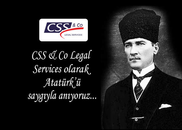 10 Kasım'da Atatürk'ü Saygıyla Anıyoruz.