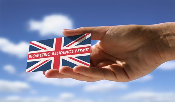İngiltere'ye Gittikten Sonra Biyometrik İkamet İzni (Biometric Residence Permit) Almak