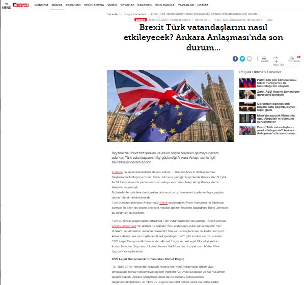 Brexit Türk Vatandaşlarını Nasıl Etkileyecek? Ankara Anlaşması nda Son Durum