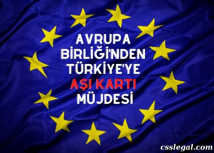 Avrupa Birliği'nden Türkiye'yi Sevindiren Aşı Hamlesi