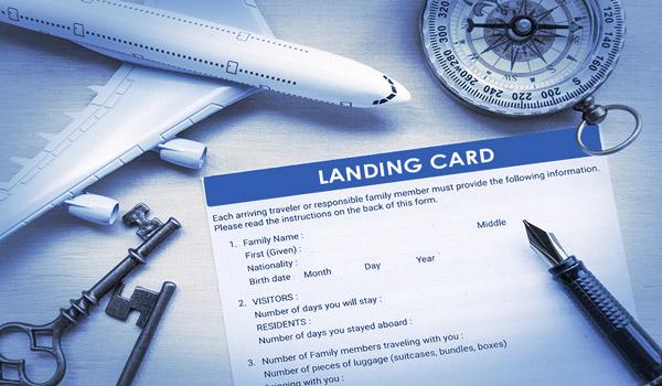 İngiltere Vizesi ile İngiltere'ye Gidildiğinde Landing Card (İniş Kartı) Doldurmak