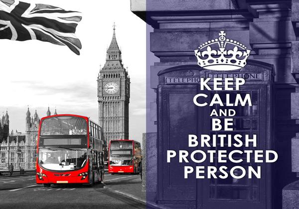İngiltere Koruması Altındaki Kişi (British Protected Person)